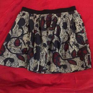 Topshop Skirt with Hidden Pockets